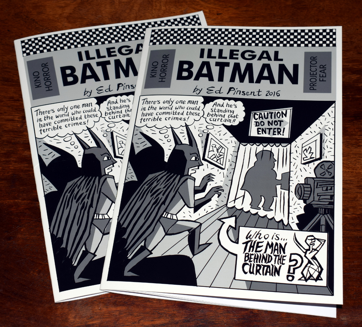 New Illegal Batman Comic