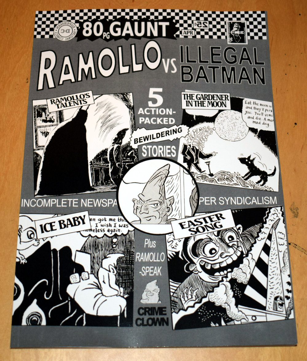 New comic: Ramollo vs Illegal Batman