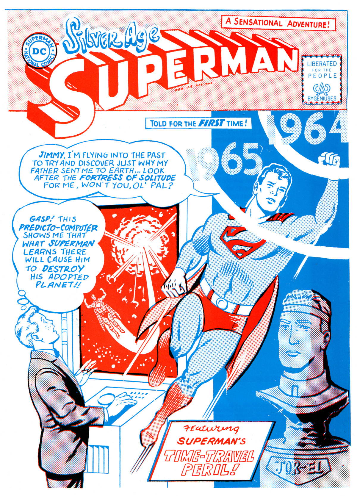 Silver-Age Superman: back in print