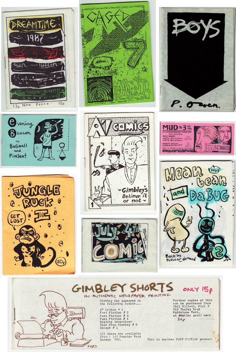 Mini-Comics galleries