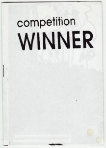 Competition Winner