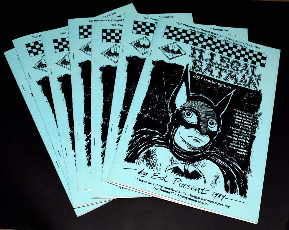 Illegal Batman Reprint!
