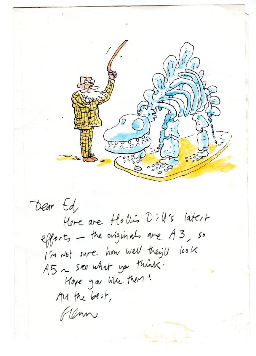 A sketch by Glenn Dakin
