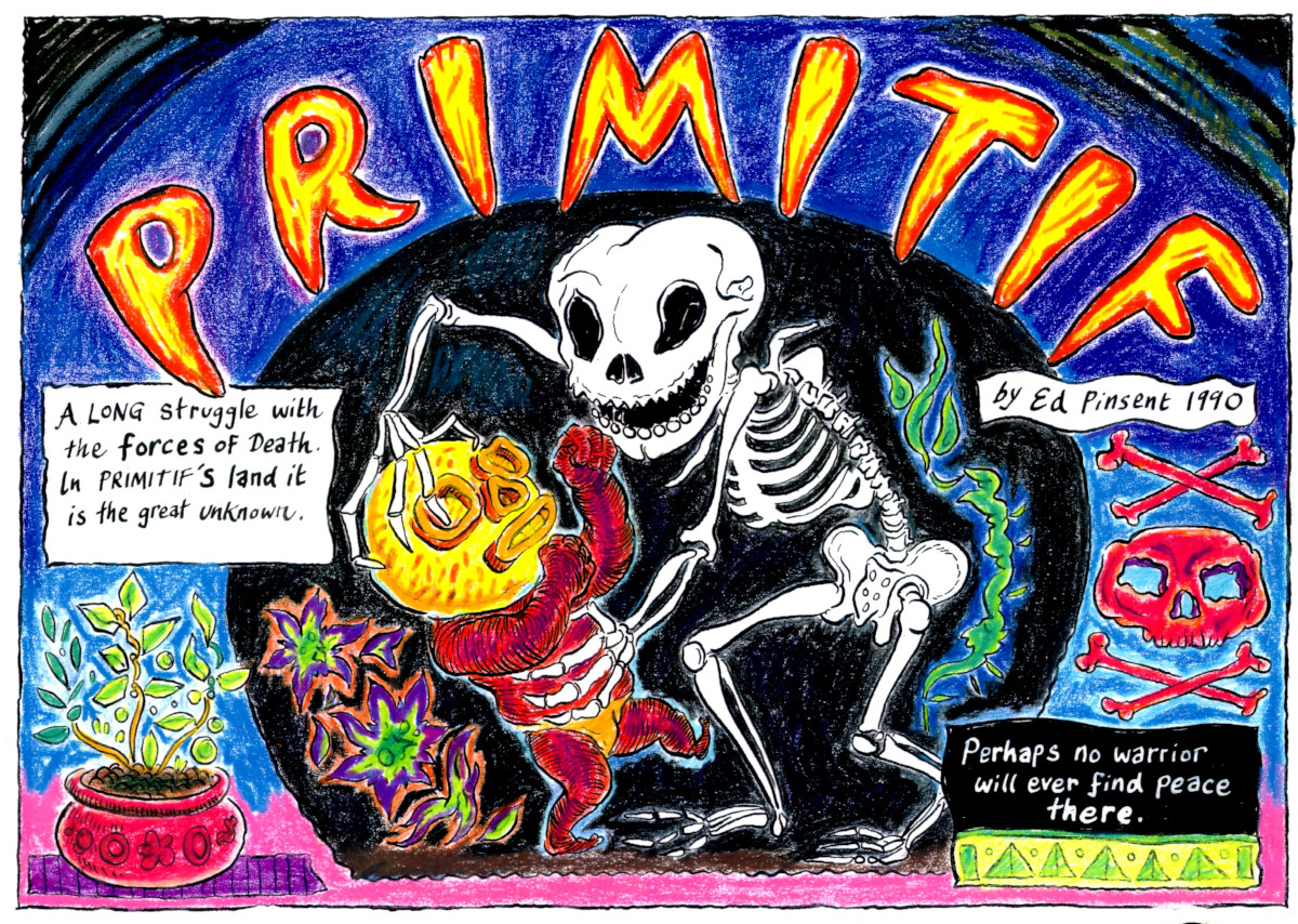 Primitif In The Land Of The Dead
