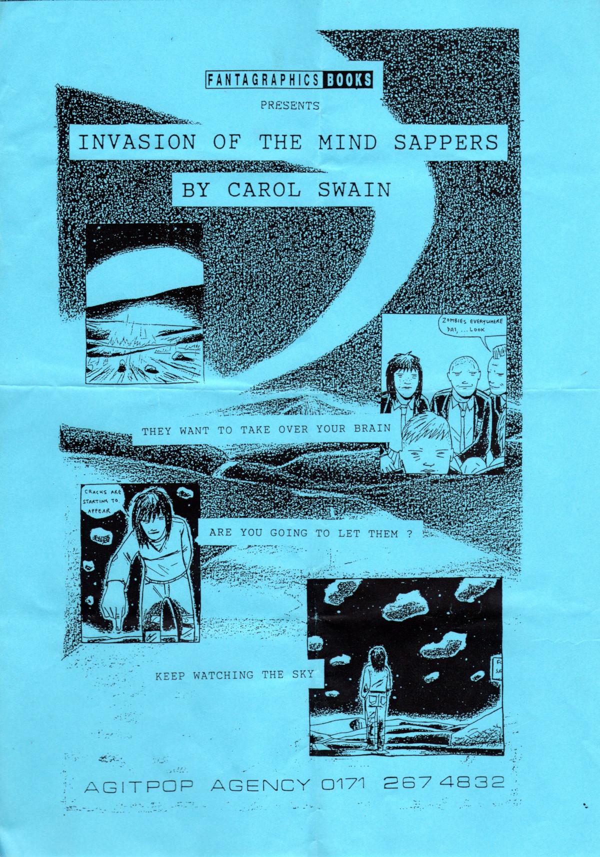 Flyer for Carol Swain book