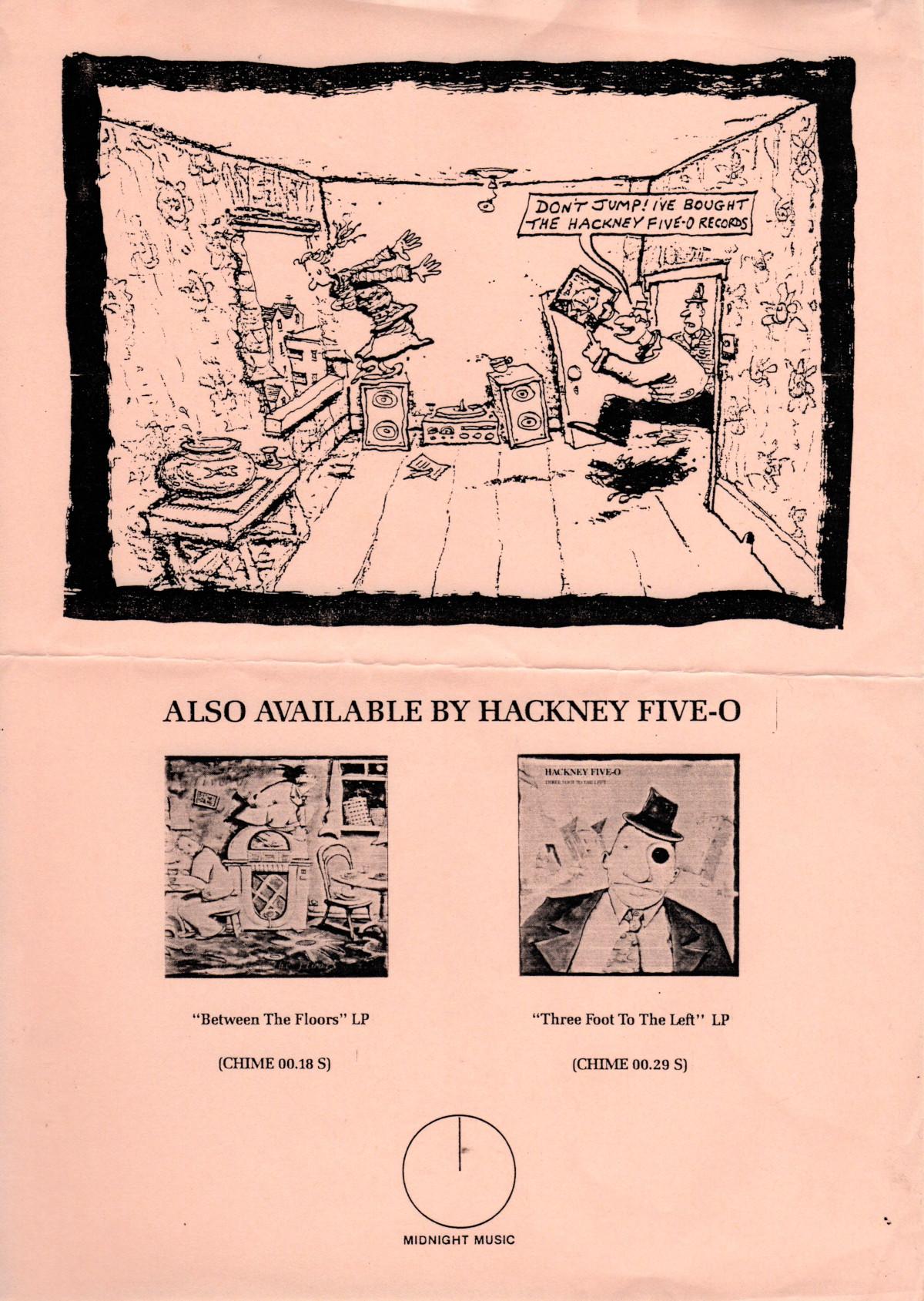 Promo flyer by John Watson