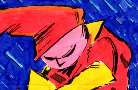 Gag #2 colour sketch